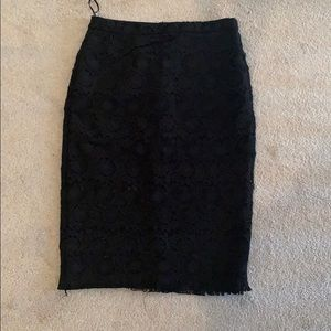 NWOT lace pencil skirt